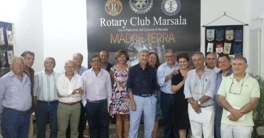 """""""Mediterraneo Unito"""" e """"Blue Sea Land"""": i rotariani del mondo a Marsala e  Mazara del Vallo per il dialogo fra i popoli"""