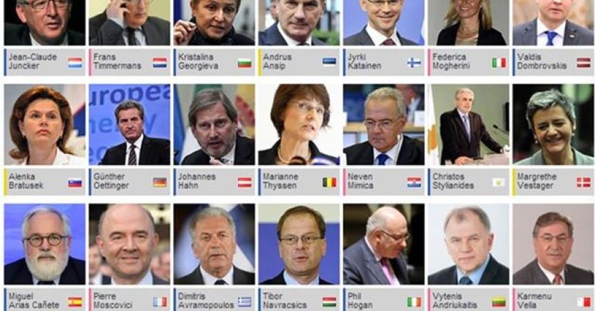 """Commissione Ue, Juncker nomina la sua """"squadra vincente"""""""