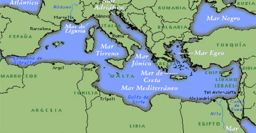 Mediterraneo, Agenda settimanale dal 3 al 9 novembre