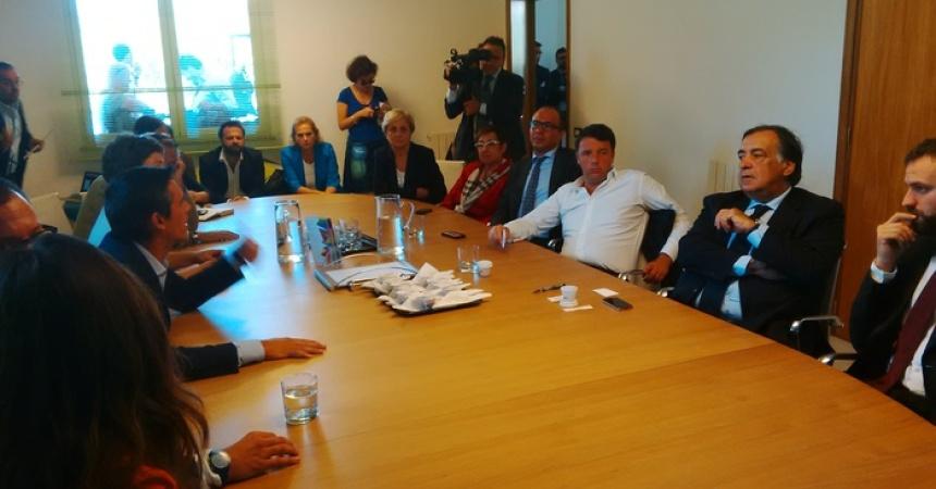 Renzi a Palermo visita Mosaicoon, eccellenza del web