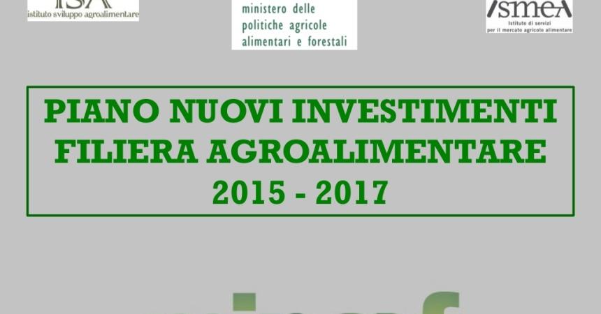 Agroalimentare: otto strumenti per un piano di investimenti da oltre due miliardi