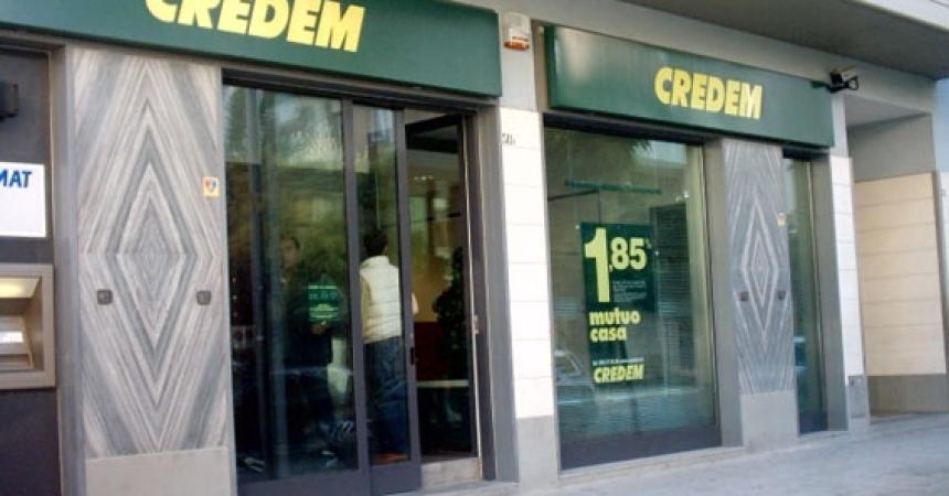"""Credem,150 mln per le pmi siciliane con """"Grancassa"""""""