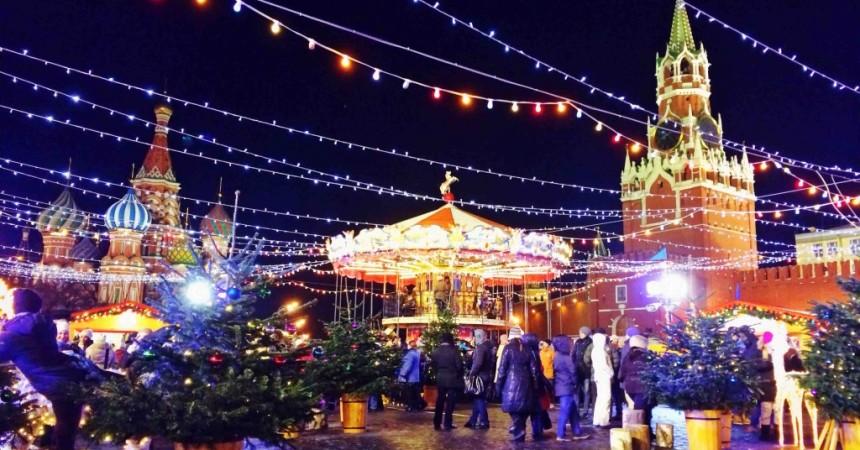 Le eccellenze siciliane nei mercatini di Natale nella piazza Rossa