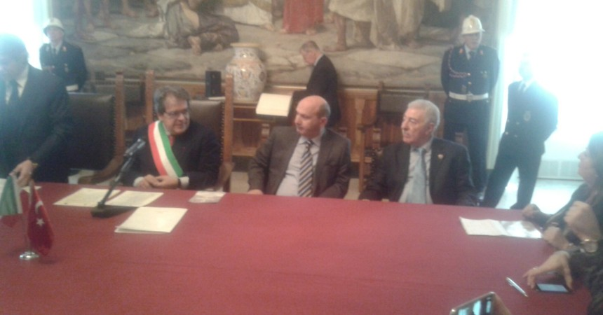 Delegazione della municipalità di Beyoglu ( Istanbul) in visita a Catania per progetto gemellaggio