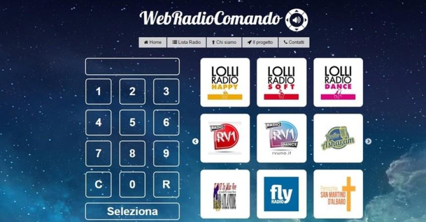 Ingegnere palermitano lancia web radiocomando, un telecomando per radio online