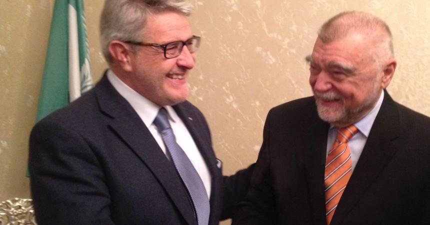 Tumbiolo a Tirana incontra i Presidenti della Repubblica di Albania e Croazia