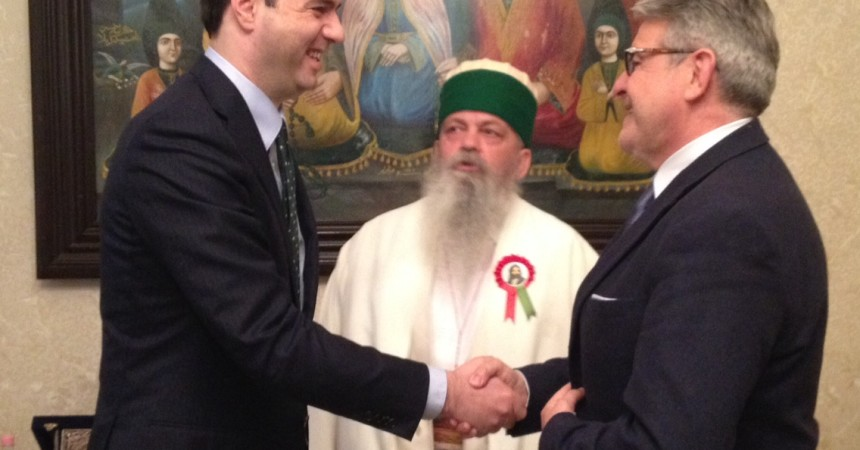 Tumbiolo in Albania ospite del Papa Bektashi  incontra i capi delle religioni monoteiste