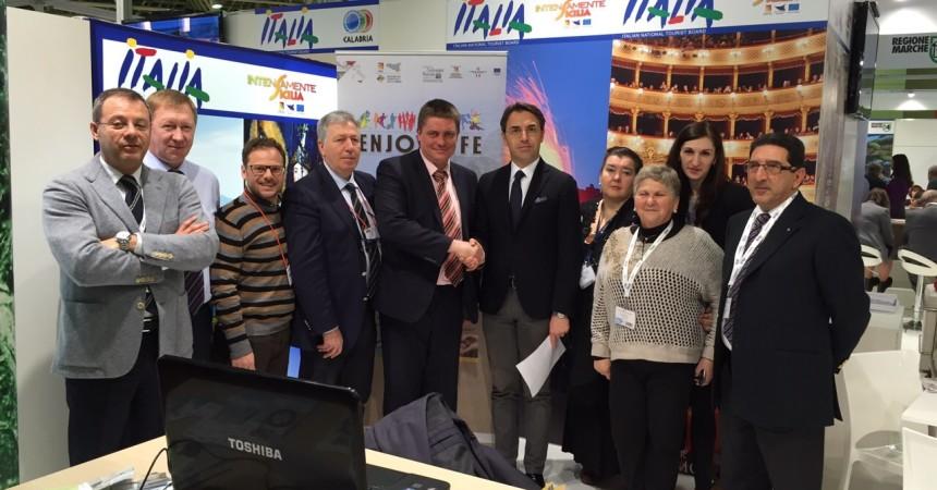 Il Distretto tuistico degli Iblei al Mitt di Mosca. Nuovi contatti per la destinazione Ragusa