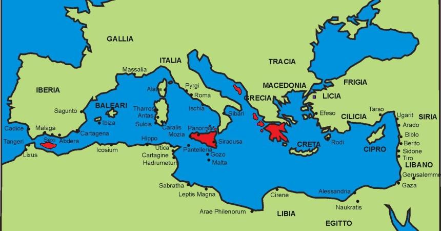 Mediterraneo, l'Agenda settimanale dal 23 al 29 marzo