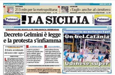 Il racconto della strage dei cinquecento su La Sicilia del 4 aprile
