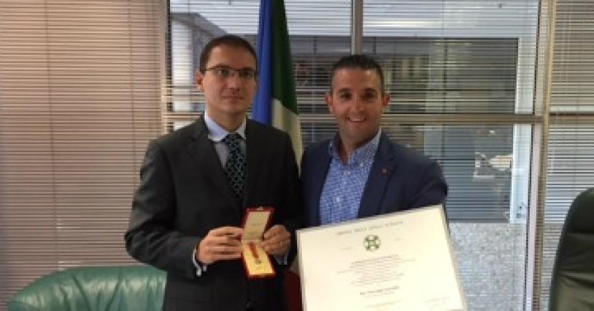 Al siracusano Giuseppe Garofalo imprenditore a Melbourne l'onorificenza di Cavaliere