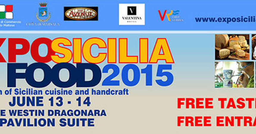 Evento a Malta, Expo Sicilia Food 2015 presso il Westin Dragonara Resort