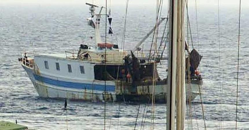 Marina Italiana a bordo del peschereccio siciliano sequestrano in Libia
