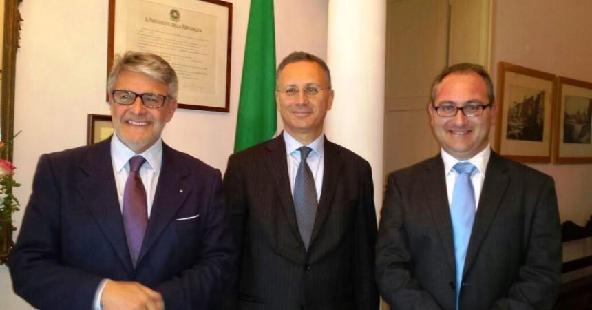 """Tumbiolo a Malta per la creazione del """"Cluster marittimo del Mediterraneo"""""""