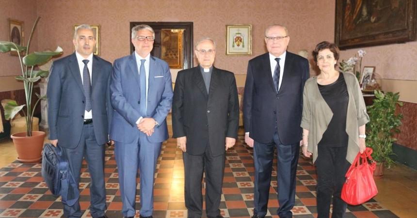 """""""Un Forum Italia-Algeria in Sicilia"""" la proposta di Tumbiolo all'Ambasciatore d'Algeria in Italia"""