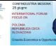 Forum Polonia Repubblica Ceca e Slovacchia presso Confindustria Messina il 25 giugno