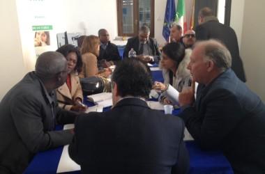 L'Angola sbarca in Sicilia, incontri commerciali al Distretto della Pesca
