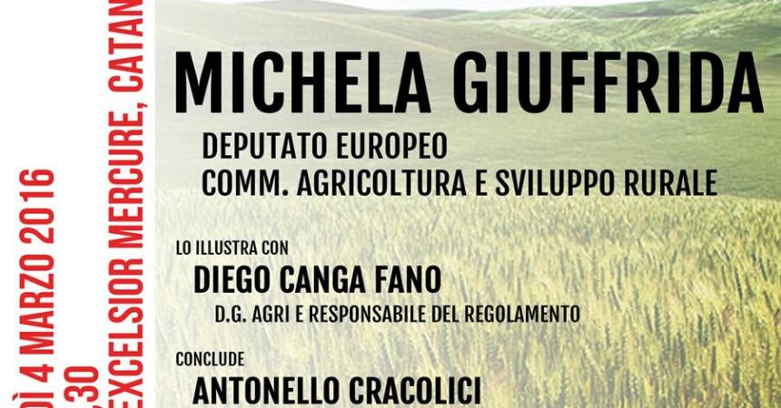 Giuffrida, il rilancio dell'agricoltura siciliana parte da un forte sostegno dell'Ue