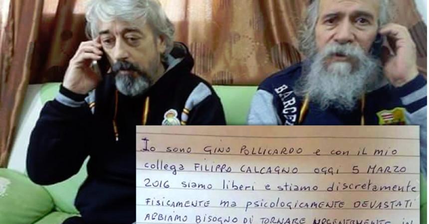 Libia, liberati i due tecnici italiani. C'è anche il siciliano Calcagno