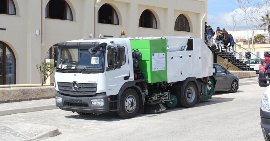 In Sicilia la ricerca cresce, nasce una spazzatrice stradale con tele diagnostica intelligente
