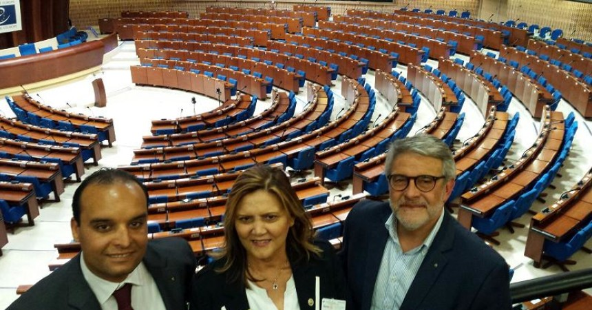L'Expo Blue Sea Land presentato a Strasburgo, al Consiglio d'Europa