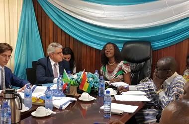 Ghana: prosegue la missione imprenditoriale nell'Africa subsahariana del Distretto della Pesca.
