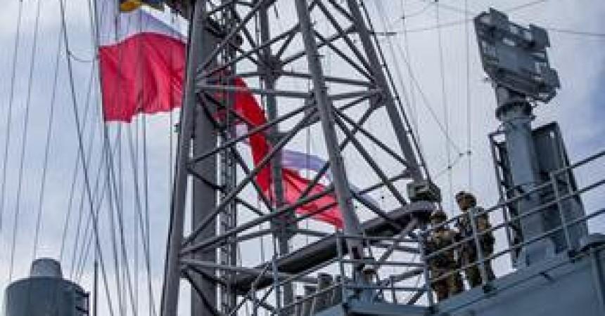 Ad Augusta giornata a porte aperte sulla fregata militare polacca ORP Kościuszko