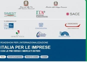 Internazionalizzazione, a Palermo Roadshow Italia per le Imprese, con le PMI verso i mercati esteri