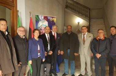 Cracolici e Tumbiolo incontrano i vertici della pesca di Tripoli, Tobruk e Bengasi