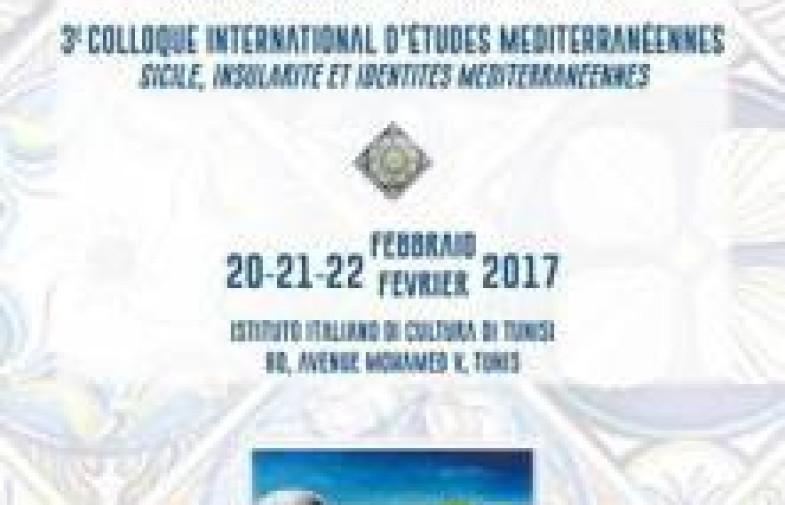Terzo  convegno internazionale di studi mediterranei Sicilia-Tunisia