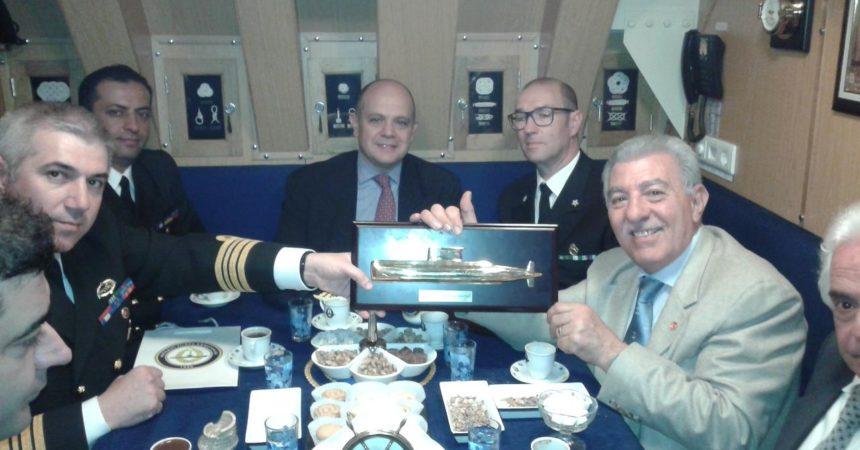 Ambasciatore di Turchia a Roma visita le unità militari a Catania ed Augusta