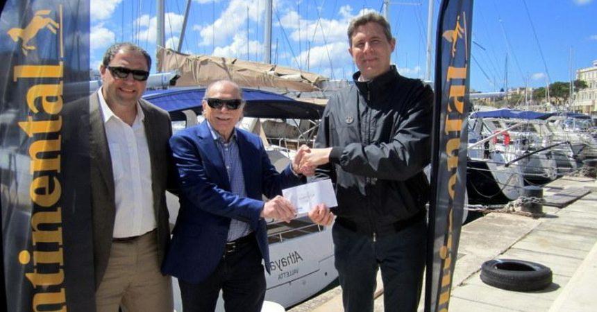 Continental sponsor della regata Malta-Pozzallo Sette Giugno 2017