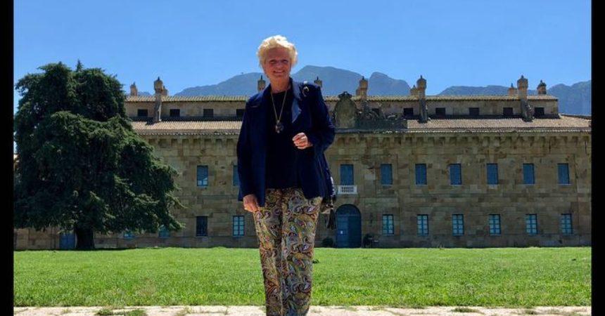 Beatrice di Borbone in visita a Ficuzza(Pa)