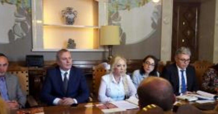 Il Segretario di Stato rumeno Lilla Boglarka Debelka a Ragusa
