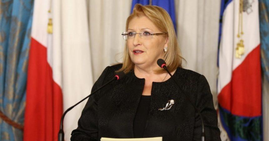 Il  Premio Internazionale Virdimura al Presidente della Repubblica Maltese