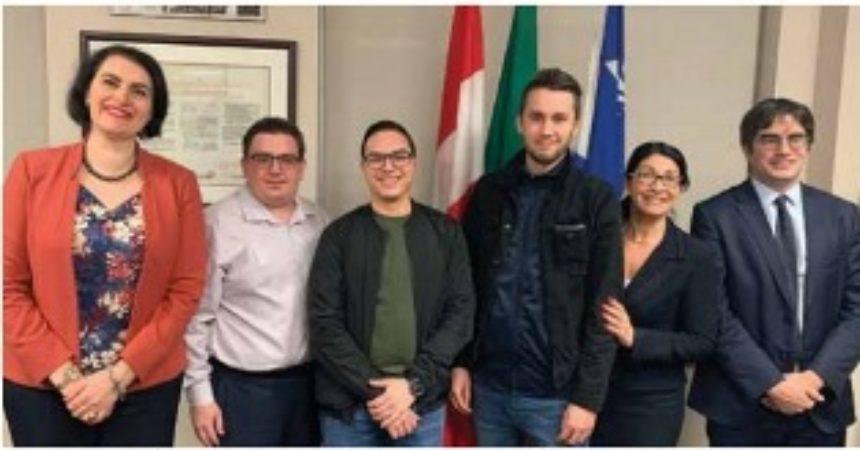Quattro giovani italo-montrealesi a Palermo