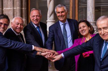 Università di Palermo: Micari incontra delegazione Corpo Consolare