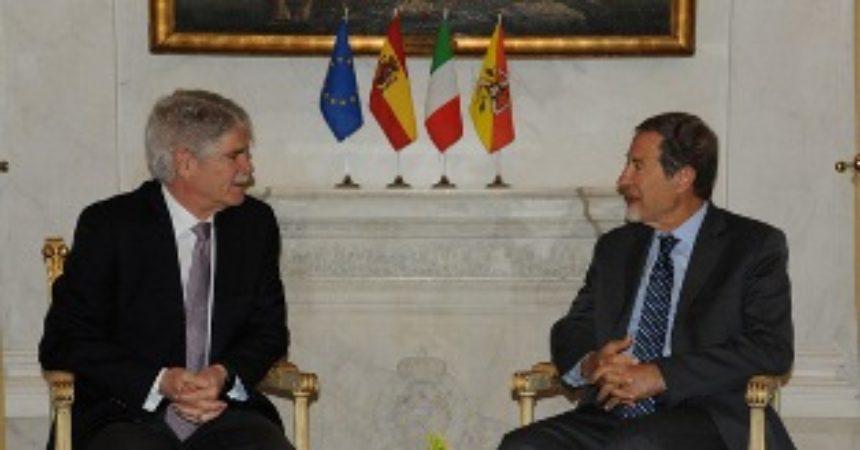 L'Ambasciatore di Spagna incontra il Presidente della Regione