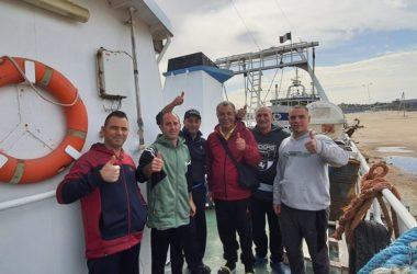 Liberati i pescatori di Mazara del Vallo, Natale a casa
