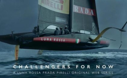 Coppa America: dominio Luna Rossa, in alto i colori del circolo velico Sicilia