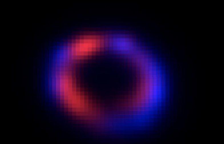 Studio Università Palermo, stella di neutroni nella Supernova SN 1987A