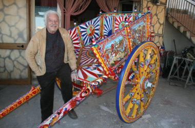 L'ultimo pittore di carretti siciliani, allievo di Guttuso