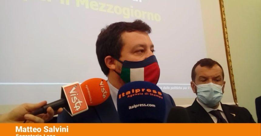 """Sud, Salvini """"Ripartire dalle eccellenze"""""""
