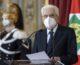 """Covid, Mattarella """"L'Italia ha dimostrato unità e coesione"""""""