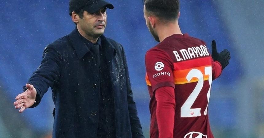 Doppietta Mayoral, Roma vince in Ucraina e va ai quarti