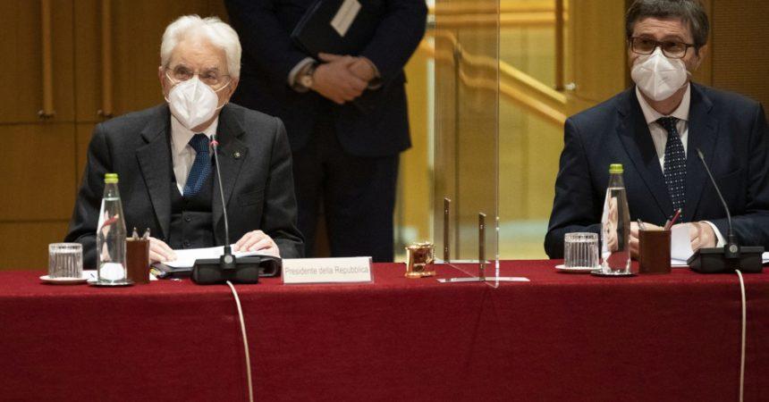 """Giustizia, Mattarella """"Riforme necessarie e importanti"""""""