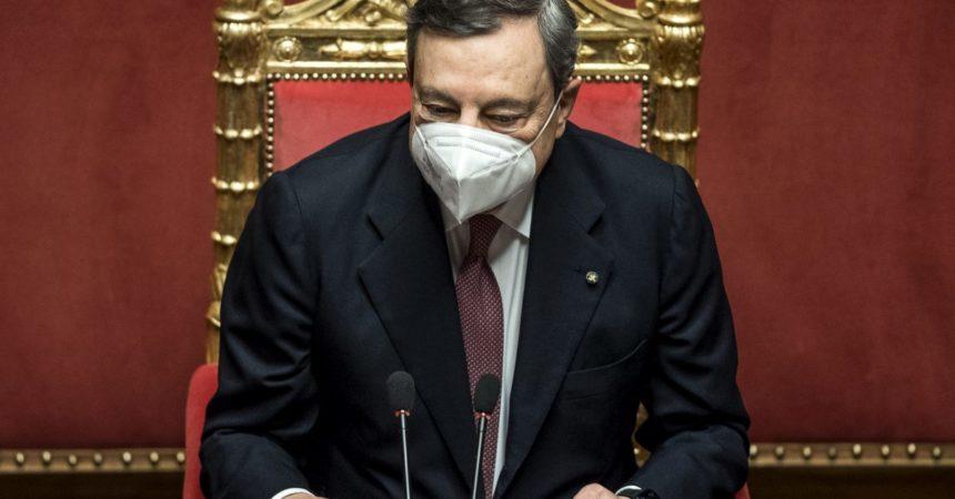 """Turchia, Draghi a Erdogan """"Preoccupa la situazione dei diritti umani"""""""