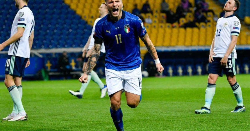 Italia-Irlanda del Nord 2-0, a segno Berardi e Immobile