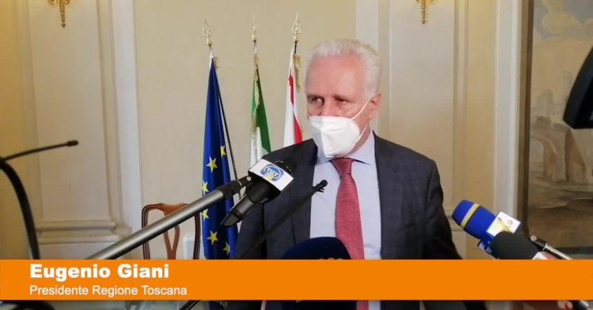 "Giani ""In Toscana 1080 dosi anticorpi monoclonali"""