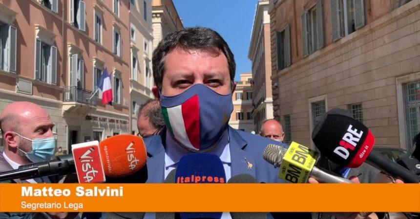 "Salvini ""Riaperture vero rimborso per famiglie e imprese"""